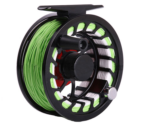 Quality fly fishing reels for salt and fresh water fishing