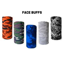 Face buffs and Neck gaiters