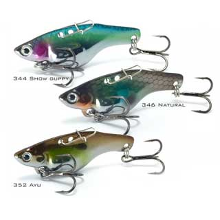 Fish Inc Guppy - Vibe lures for bream, flathead and tailor
