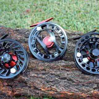 Fly Fishing reels for freshwater and saltwater fly fishing