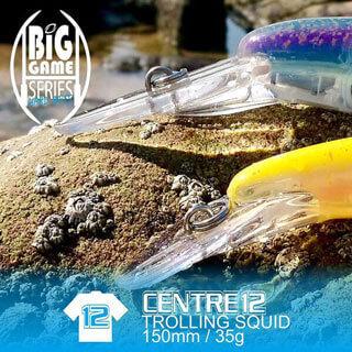 Fish Inc Centre 12 trolling squid bait