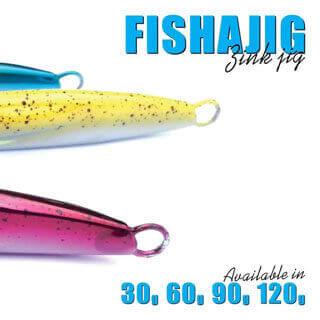 Fish Inc Fishajig 90g zinc jig