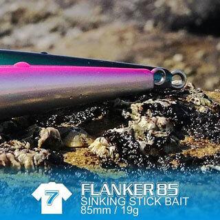Fish Inc Flanker 85mm stickbait