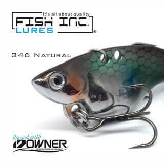 Fish Inc Guppy 49 blade vibration lure