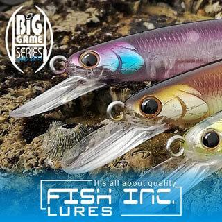 Fish Inc Lock 160mm Suspending Jerk Bait
