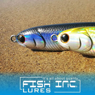 Fish Inc Prop stickbait 140mm