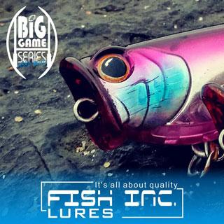 Fish Inc Scrum Half 140mm popper