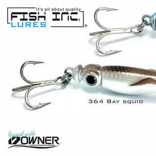 Fish Inc Squidee 41mm metal lure