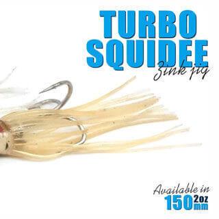 Fish Inc Turbo Squidee 150mm zinc jig